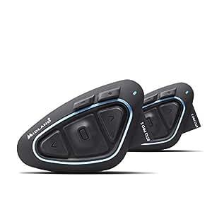MIDLAND BT X2PRO S ツイン C.1414.11 バイク用インカム Bluetooth ヘルメットの中で音楽が聴ける 通話ができる 同時通話バイク4台まで可能 インターカムモード最大通信距離1200m ステレオ音楽を聴きながらインカム通話可能 ソロの場合 ステレオ (A2DP) 2回線同時使用可能 高音質Hi-Fiスピーカー標準搭載 最新ノイズキャンセルMWe