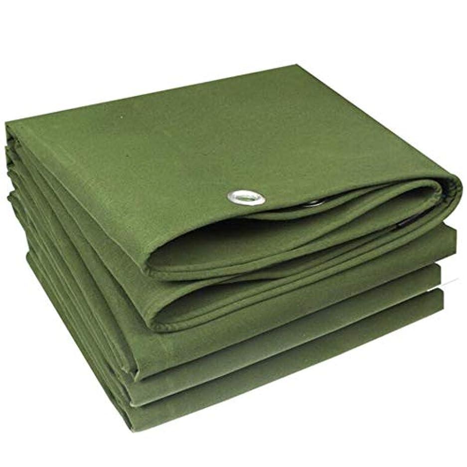 ポジティブプライバシー代表19-yiruculture 屋外テント多機能防水日焼け止めシェード布トラック防水シート屋外日除け布 (Color : A, サイズ : Green -4x6m)