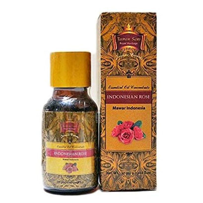 シャット気味の悪い等価Taman Sari タマンサリ エッセンシャルオイル ムスティカラトゥ高級スパブランド Indonesian Rose インドネシアローズ 20ml
