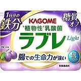 【冷蔵】【6本】ラブレLight 1日分の鉄分 80mlX3 カゴメ