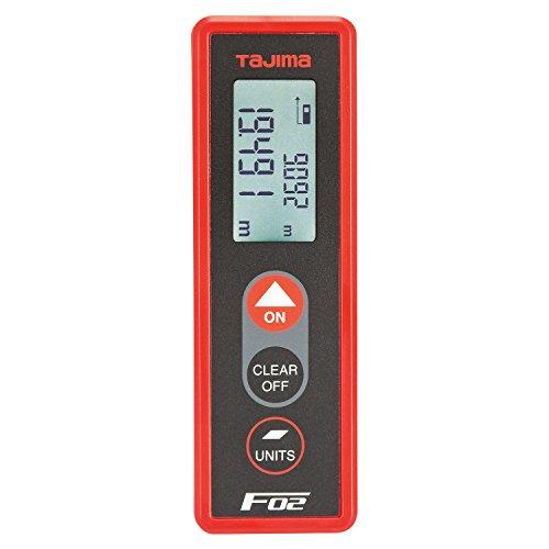 タジマ レーザー距離計 F02レッド PSC認定取得品 LKT-F02R