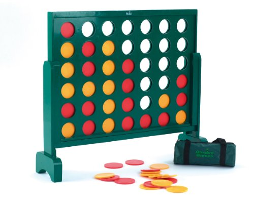 Garden Games Jumbo 4 Wooden Connect Four Game