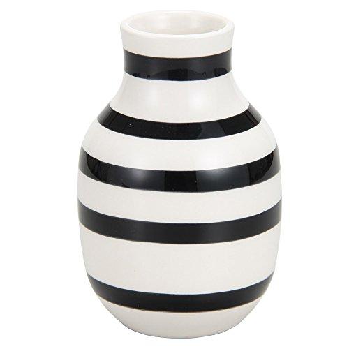 RoomClip商品情報 - Kahler [ ケーラー ] オマジオ フラワーベース スモール ブラック 11960 花瓶 H125 [並行輸入品]