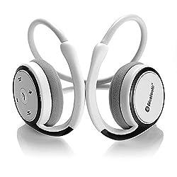 Dylan Bluetoothイヤホン ワイヤレスヘッドセット Bluetoothイヤフォン CVCノイズキャンセル搭載 (ホワイト)