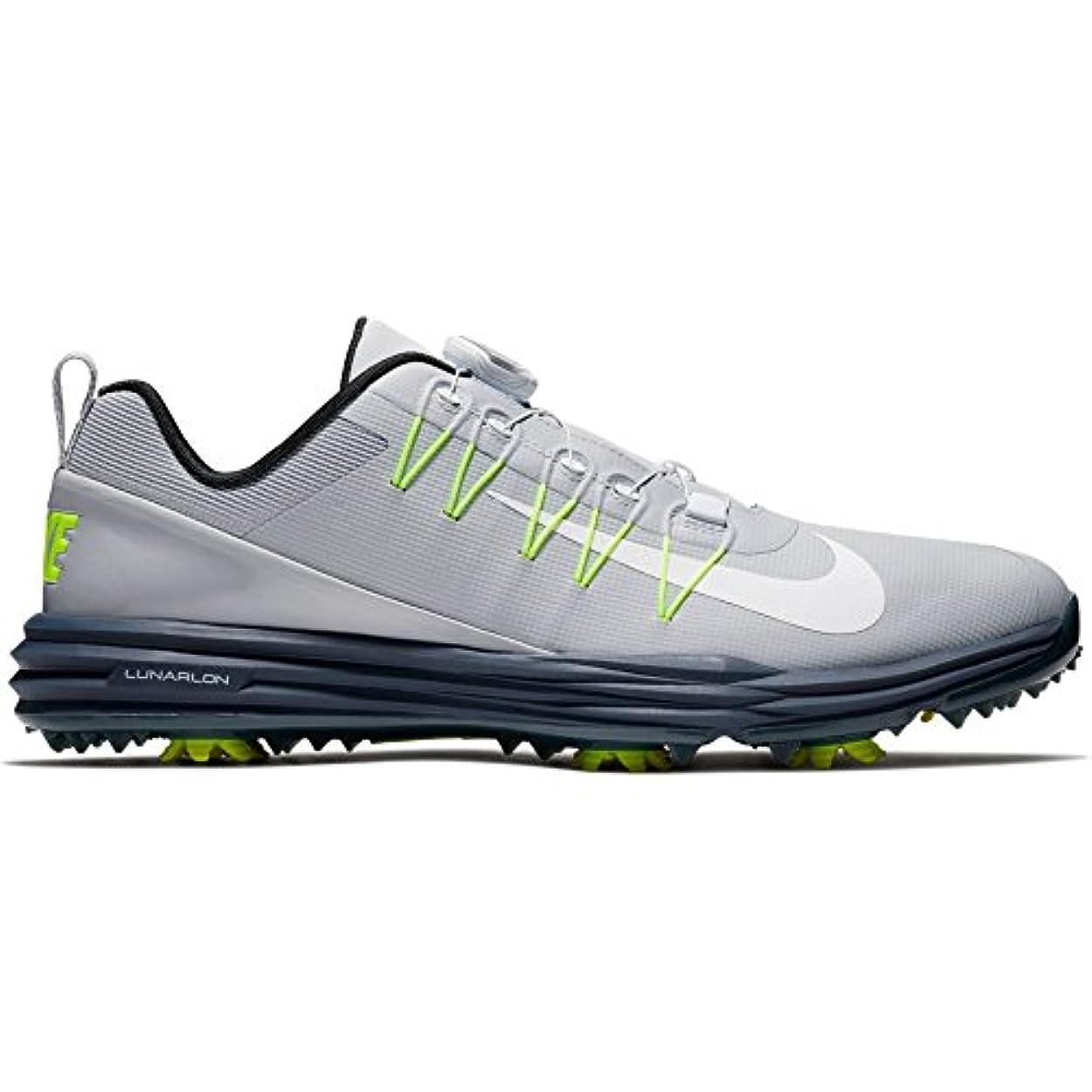 恐ろしいです本物農業のNike Lunar Command 2 Boa Mens Golf Shoes 888552 Sneakers Trainers