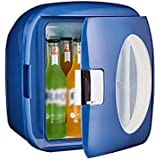 9L Mini Portable Personal Fridge Car Refrigerator Mute Low Noise Office Home Electric Cooler and Warmer for Traveling and Camping