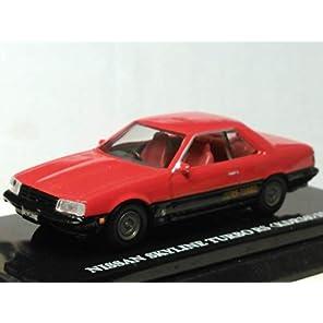 京商 1/64 日産 スカイライン ターボ RS 赤 黒 鉄火面 ビーズコレクション