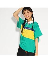 (ピンク ラテ) PINK-latte ★ニコラ掲載★ジップ ラガーシャツ 31914103