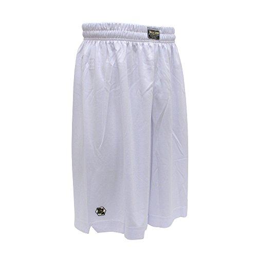 BALL LINE(ボールライン) バスケットボールパンツ バスパン バギーショーツ BL9002 ホワイト S