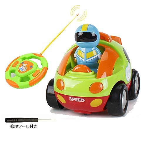 ラジコンカー リモコンカー スタントカー 車のおもちゃ 車 RC ラジコン 子供 玩具 新年/誕生日のプレゼント 知育・学習玩具 知育オモチャ 贈り物 LEDライト搭載 音楽 人気 趣味 簡単操作 (ラジコンカー,green)