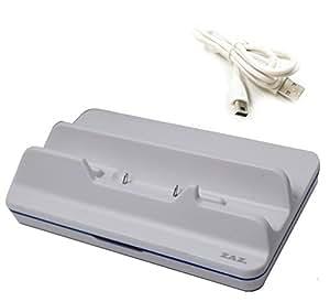 [ZAZ] Wii U GamePad 専用 充電スタンド クレードル 〔ホワイト〕 ※USBケーブル付属