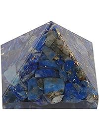 Aatm Reiki Energized Lapis Lazuli Orgone pyramid (1 inch) (Stone of Enlightenment & Balancing)