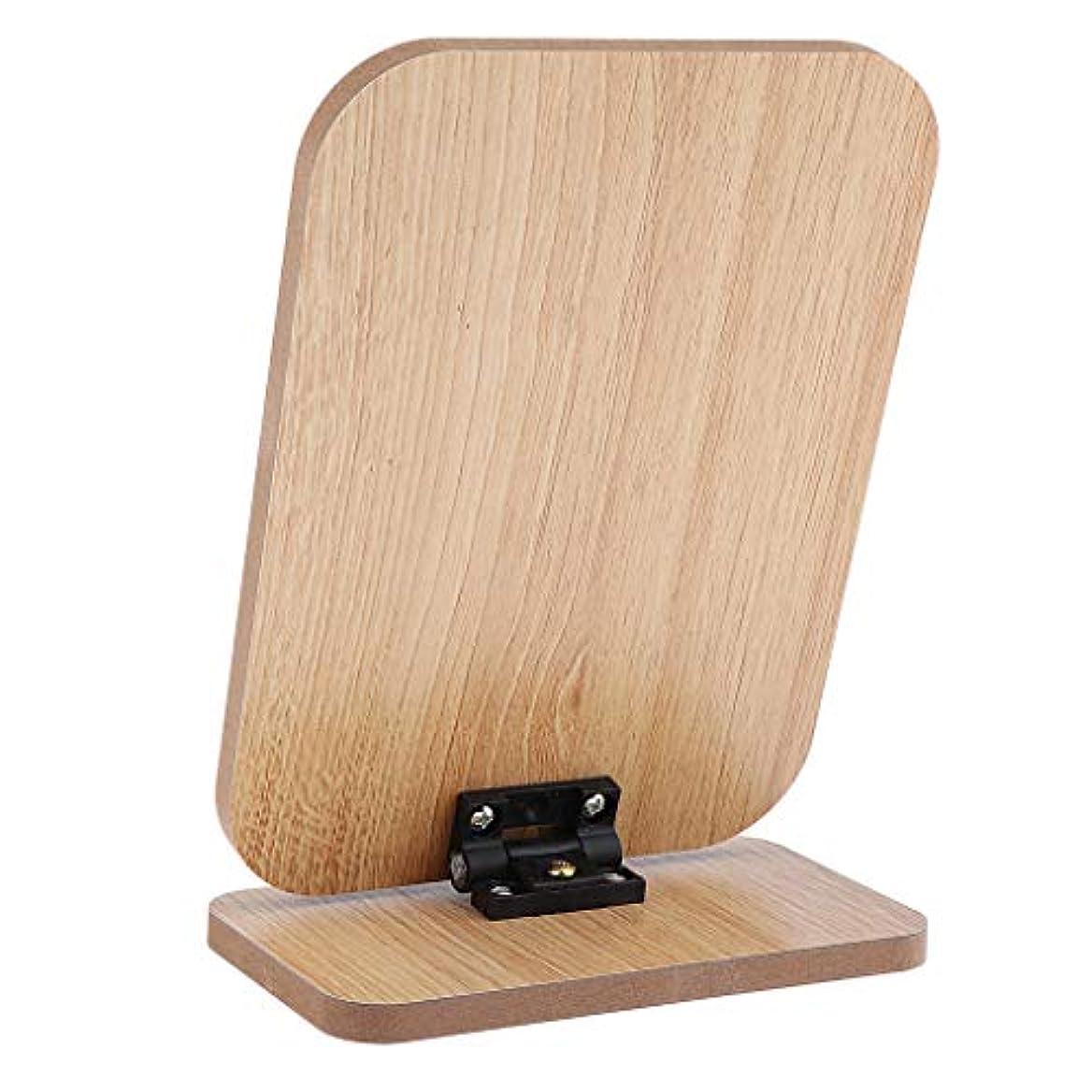 講義厚さ辞書化粧鏡 メイクアップミラー 卓上ミラー 鏡 折りたたみ 全6サイズ - #5