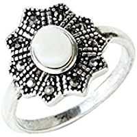 Amber Rose Pretty Iridescent Ring