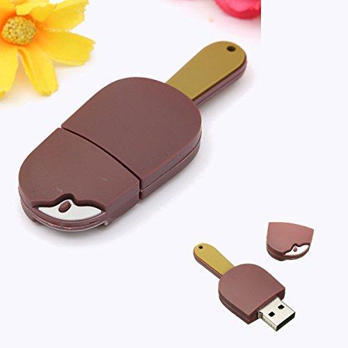 MECO USB メモリ USB 2.0 4GB/8GB/16GB チョコレート・アイスクリーム形 可愛い プレゼント おもしろ USB フラッシュメモリ Firstmore_JP
