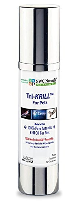 暗黙信条奇跡NWC Naturals Tri-KRILL Pump for Pets by NWC Naturals