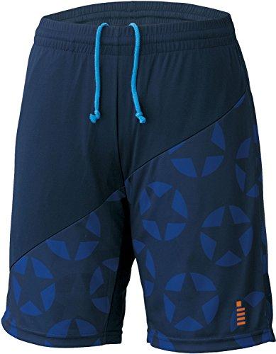 [해외]고센 (GOSEN) 남녀 겸용 배드민턴 테니스 별 무늬 게임 바지 PP1702/GOSEN (GOSEN) unisex badminton soft tennis star pattern game pants PP1702