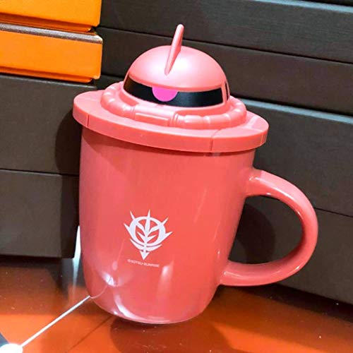 GUNDAM シャアザク シャア専用ザク キャップ付きマグカップ 機動戦士ガンダム 35周年記念 セブンイレブン限定 くじ景品 ノベルティ