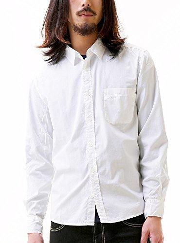 ブロードシャツ メンズ 長袖 Yシャツ スリム きれいめ 607170 ベストマート