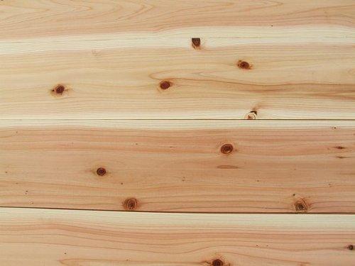 送料無料 無垢板 杉(スギ)フローリング 床 節有り 11×160×1985 10枚入り 1束