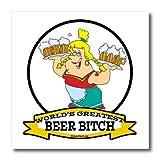 Best Bitchsシャツ - Dooni Designs Worlds Greatest漫画–Funny Worlds GreatestビールBitch Cartoon–アイロン熱転写 8 Review