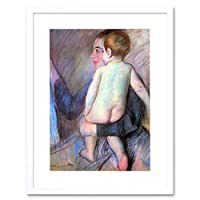 Painting Cassatt At Window Old Master Framed Wall Art Print