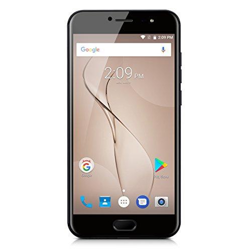 Ulefone T1 SIMフリースマートフォン Android 7.0 Helio P25 6GB+64GB 2.6GHz 5.5インチ 1920 x 1080 FHDスクリーン 8MP+16MP (黒)