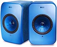 KEF Wireless Speakers (LSX Wireless Speakers (Blue, Pair))