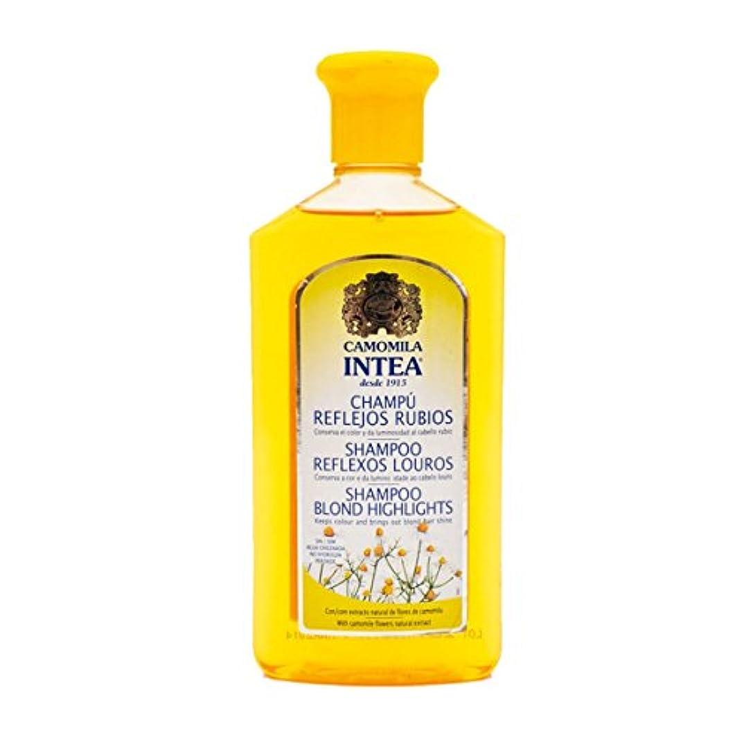 思いやり呼吸する規定Intea Adult Blonde Reflex Shampoo 250ml [並行輸入品]