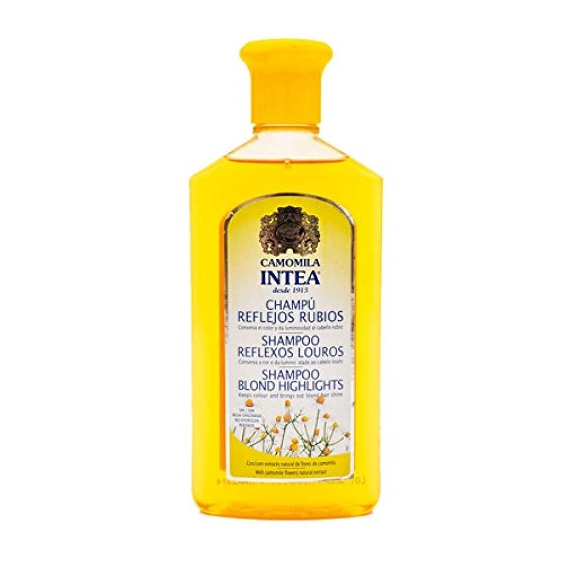 マイクロフォン減る農村Intea Adult Blonde Reflex Shampoo 250ml [並行輸入品]