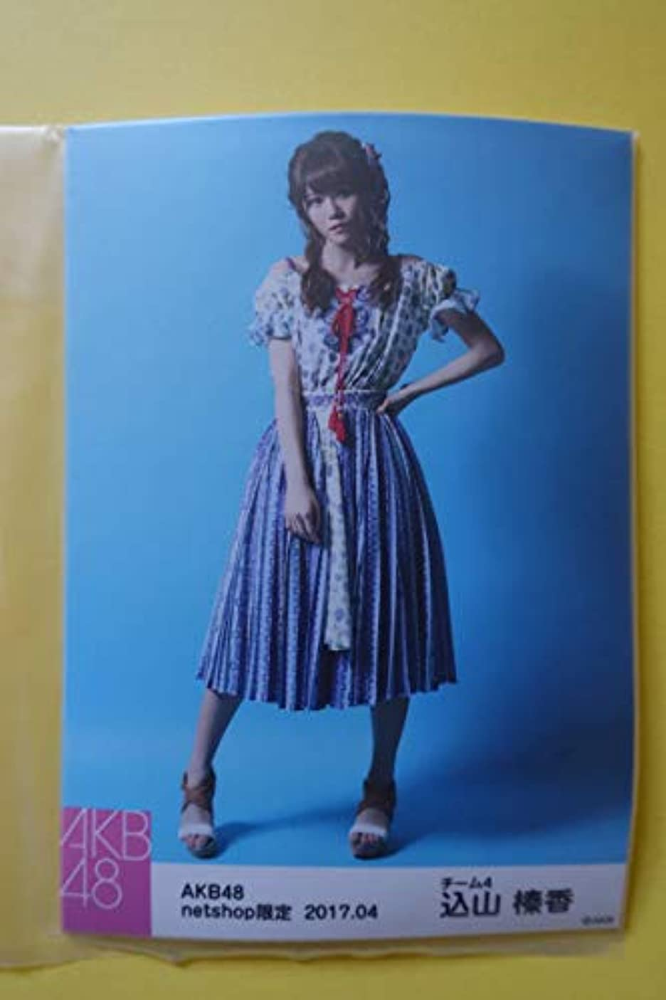 球状落ち着く製作AKB48 個別生写真5枚セット 2017.04 山榛香