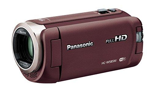 パナソニック HDビデオカメラ W585M 64GB ワイプ撮り 高倍率90倍ズーム ブラウン HC-W585M-T