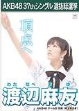 【渡辺麻友】ラブラドール・レトリバー AKB48 37thシングル選抜総選挙 劇場盤限定ポスター風生写真 AKB48チームB