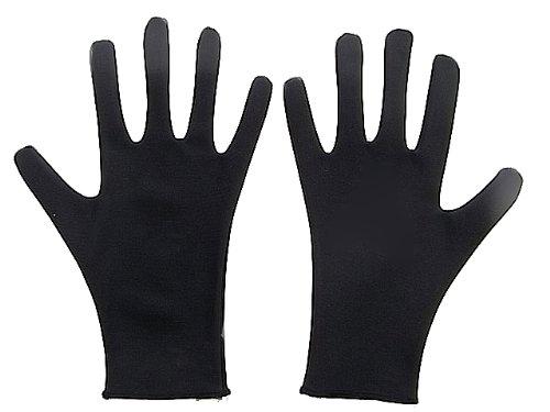 撥水スケート用手袋 8歳用 黒...