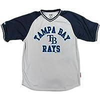 MLB Vネックジャージー M グレイ