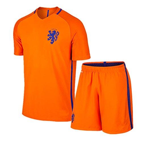 大人用 16?17 最新モデル サッカー ユニフォーム オランダ HOME  マーキング無料(XL)
