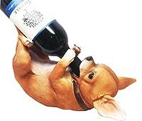 Tiny Tipplerティーカップチワワ子犬オイルワインボトルホルダーFigurine Statue
