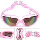 Adult Men And Women Swimming Goggles Glasses Waterproof Glasses Anti-fog Swimming Pool Glasses Youth UV Protection