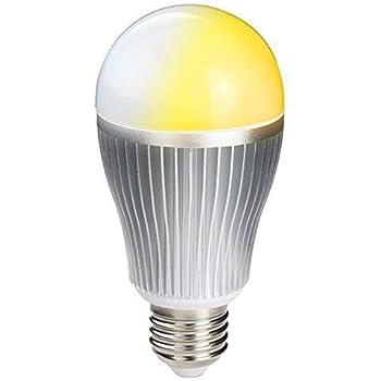 共同照明 LED電球 E26 調光調色可能 リモコン操作 60w相当 (GT-B-9W-CT)LED 一般電球 e26口金 led照明 DL-L60AV 昼白色 電球色 (LED電球9W 調光&調色) 無線式リモコン操作 (リモコン別売り)