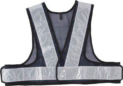 [해외]토라 스코 中山 | TRUSCO 안전 조끼 짧은 길이 감 * 실버 (4154240) TKA-540 [기타]/Trasco Nakayama | TRUSCO Safety vest short Length Navy * Silver (4154240) TKA - 540 [Others]