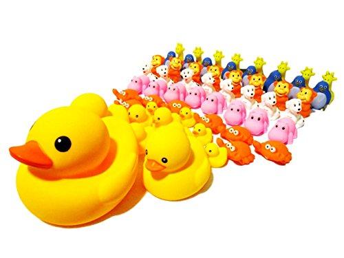 アヒルの親子 生き物 アソート うきうき 60個入り お風呂 水遊び