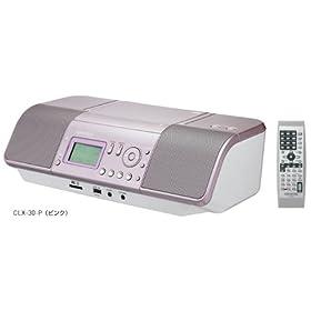 ケンウッド CD/SD/USBパーソナルオーディオシステム(ピンク) CLX-30-P