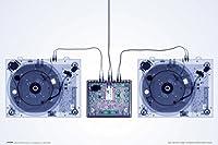 proframes Xray Decksアートプリントフレーム入りポスター12x 18 18x12 inches