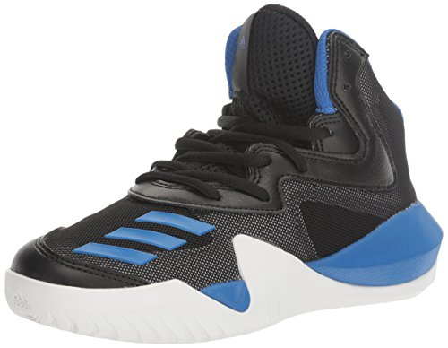 [アディダス] Crazy Team Core Black/Blue Light Solid Grey High-Top Basketball Shoe - 6.5M