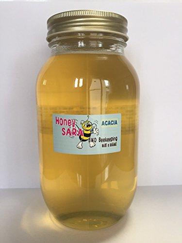 アカシア 蜂蜜 1200g(1.2kg) 純粋 国産 生 はちみつ 非加熱 非加糖 長野県産