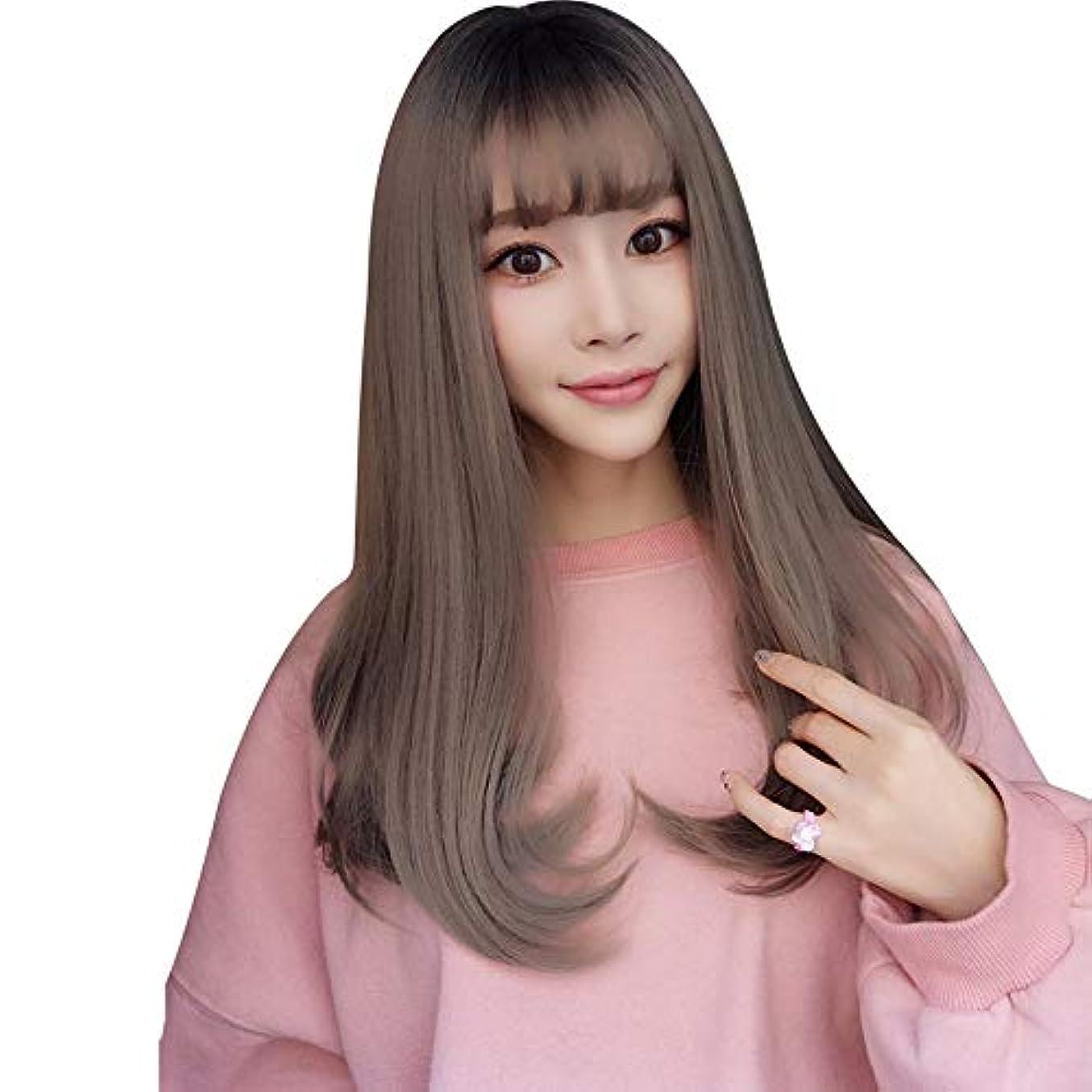 一元化するのためラジエーターSRY-Wigファッション 20 ``長いウェーブのかかった色の髪のファッションかつら白人女性の自然な女性の髪の部分のための耐熱性合成かつら