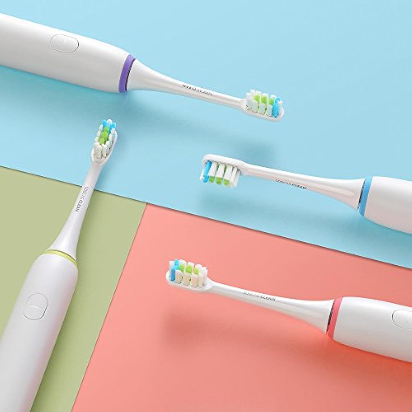 不可能な散髪公式Soocas X1電動音波歯ブラシは再充電可能バッテリーで駆動、2分間自動タイマーと3種類のオプション?クリーニング?モード、毎分37,200回のマイクロ振動、ホワイト