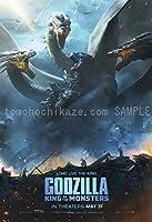 キャラクターポスター、映画ポスター、ゴジラ キングオブモンスターズ Godzilla King of the Monsters 6 ポスター A3サイズ(42x30cm)