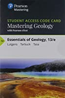Mastering Geology with Pearson eText -- Standalone Access Card -- for Essentials of Geology (13th Edition) [並行輸入品]
