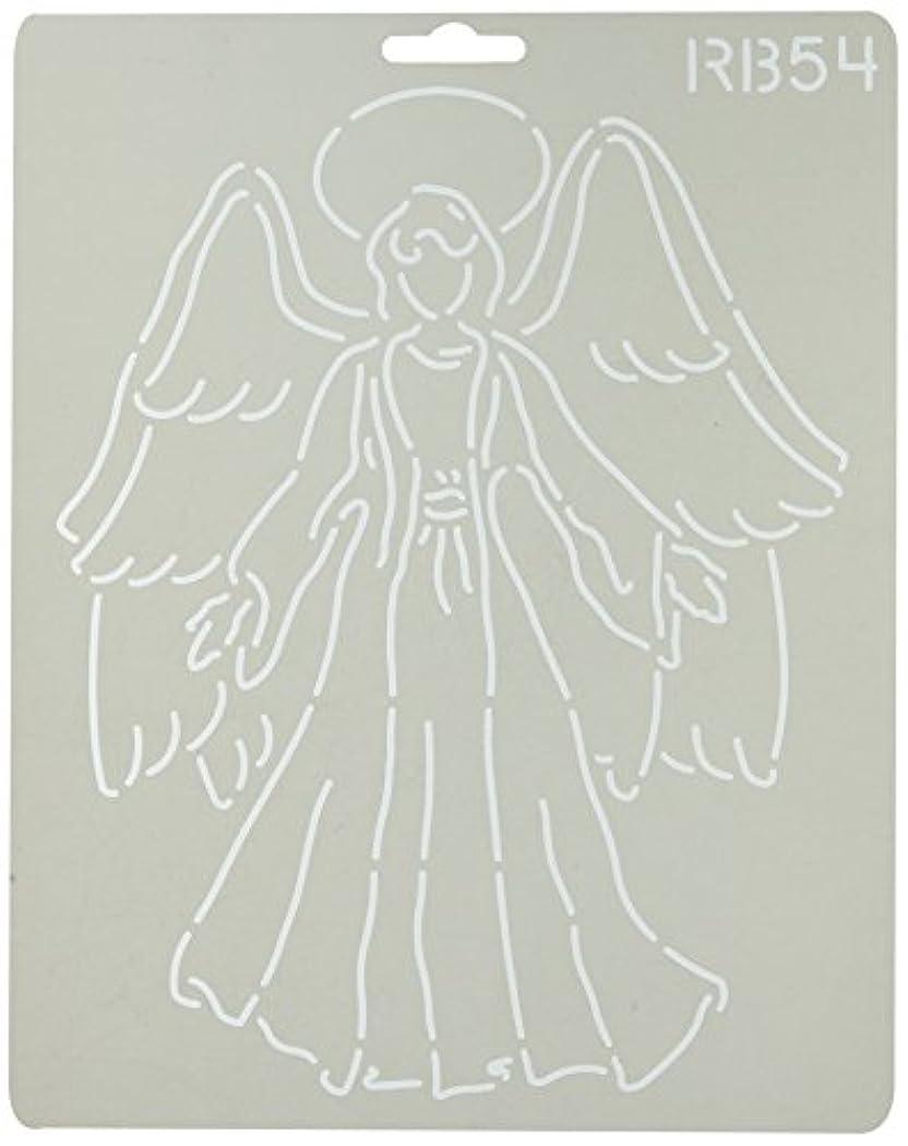 落胆させるやさしく霊Quilting Creations Angel Quilt Stencil by Quilting Creations